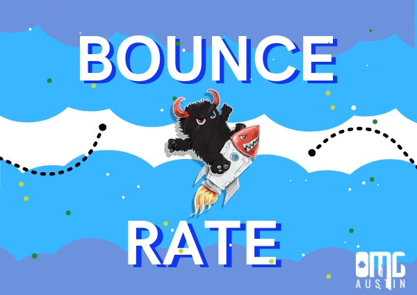 What is a bounce rate?