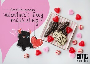 Small business Valentine's Day marketing