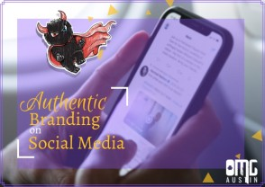 Authentic branding on social media