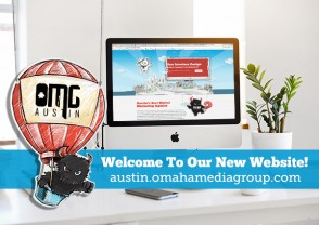 PRESS RELEASE - OMG AUSTIN LAUNCHES NEW SITE
