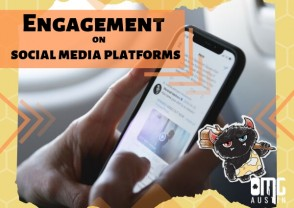 Engagement on social media platforms
