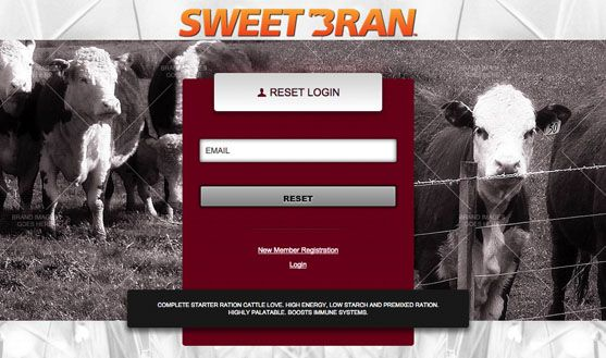 Cargill SWEETBRAN Customer Portal - 2